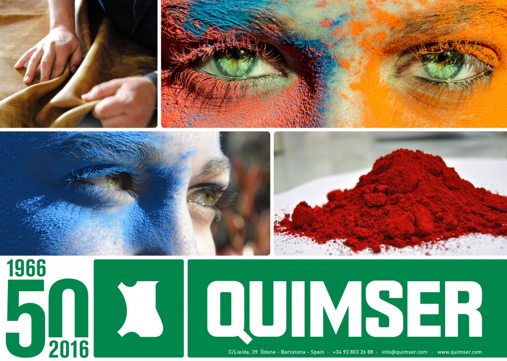 Quimser develop diferent products for leather.